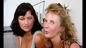 German Mommy Teaches German Girl Lesbian Sex