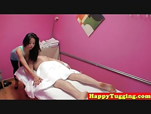 Asian Masseuse Riding Client On Spycam