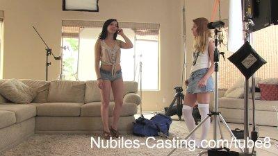 Amateur Cutie Nails Her Hardcore Casting Shoot