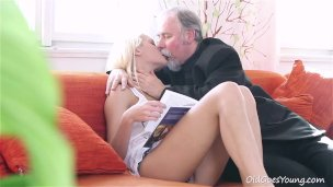 Missy Stone Threesome With Older Couple