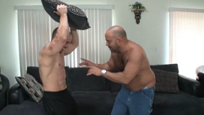 Two Muscle Gays Fucking Together