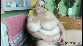 Dick Huge Clitoris Handjob And Huge Tits