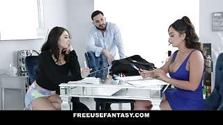 Sofie Reyez Fucked Over The Desk