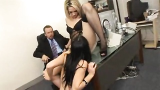 Business Threesome. FFM